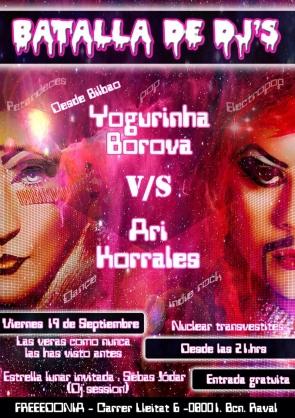 BATALLA DE DJ'S ! Travestidas..y un Maromo dj !
