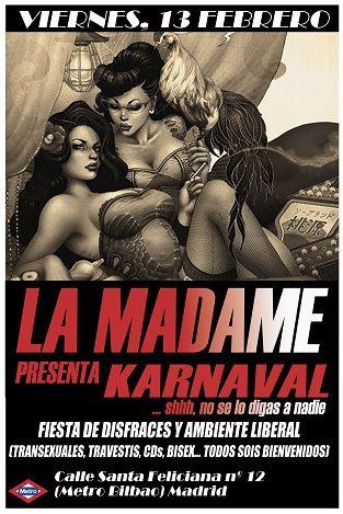 LA MADAME-KARNAVAL