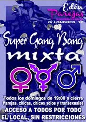 Madrid: SUPER GANG BANG MIXTA - Todos los domingos