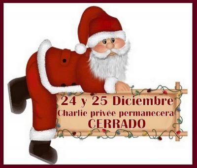 24 Y 25 DE DICIEMBRE CERRADO