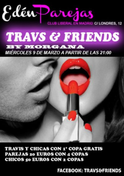 FIESTA TRAVS& FRIENDS MARZO 2016