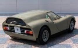 Scarabeo, la rara Alfa Romeo con motore posteriore