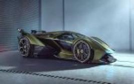 Lamborghini Lambo V12 Vision Gran Turismo. Se presenta esta nueva bestia virtual