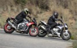 Aprilia Tuono V4 Factory vs BMW S 1000 R: Juguetes para mayores